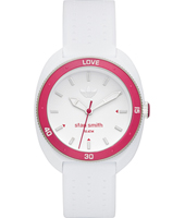 ADH3188 Stan Smith 34.50mm Classic white & pink fashion sports watch