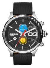 DZ4331 Double Down Big 48mm Large Black Chronograph with Date