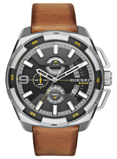 DZ4393 Heavyweight 50mm XXL steel chronograph with date