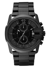 DZ4180 Master Chief 45mm All Black Steel Chrono with Date