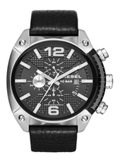 DZ4341 Overflow 49mm Black Chronograph with Date
