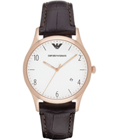 AR1915 Beta Large 41mm Rose Gold Gents Watch with Date