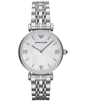 AR1682 Gianni T-Bar 32mm Steel ladies watch with MOP dial