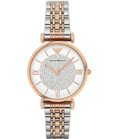 AR1926 Gianni T-Bar 32mm Two-tone ladies watch with crystals