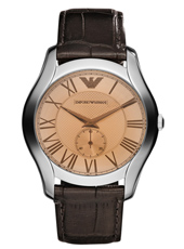 AR1704 Valente Large 43mm Brown Gents Watch with Petite Seconde