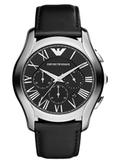 AR1700 Valente XLarge 44.50mm Black Chronograph with Date