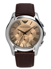 AR1785 Valente XLarge 44.50mm Brown Chronograph with Date