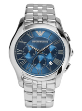 AR1787 Valente XLarge 44.50mm Steel & blue Chronograph with Date