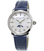 FC-206MPWD1S6 Moonphase 30mm Swiss Ultra Thin Quartz Watch with Moonphase