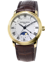 FC-330MC4P5 Moonphase 40mm Swiss Automatic Watch with Moonphase