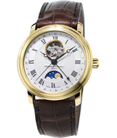 FC-335MC4P5 Moonphase 40mm Swiss Automatic Watch with Moonphase
