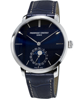 FC-705N4S6 Slimline Moonphase 42mm Swiss Handmade Watch with Moonphase