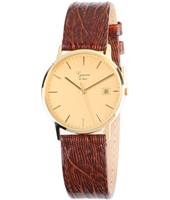GQ15Q211   33.50mm Real 14ct Gold Watch