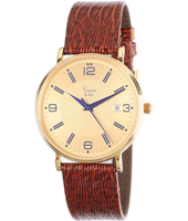 GQ15Q493   40mm Real 14ct Gold Gents Watch
