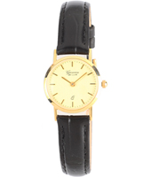 GV15Q258   21.70mm Real 14ct Gold Ladies Watch