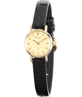 GV15Q390   17.50mm Real 14ct Gold Ladies Watch