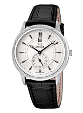 J664/1 Acamar 42mm Classic white gents watch with Breguet hands & small second