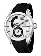 J678/1 Special Edition 44mm Steel gents watch with small second, big date & retrograde day scale