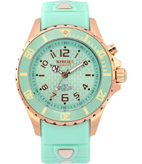 RG-007-40 Rose Gold Mint 40mm