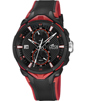 18107/8  44mm Ducati Red Chronograph