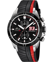 18103/3 Marc Marquez 93 44mm Black & Red Motorsports Chronograph