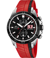 18103/5 Marc Marquez 93 44mm Black & Red Motorsports Chronograph