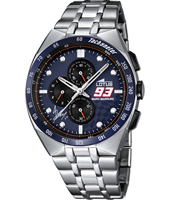 18232/1 Marc Marquez 93 43mm Steel chronograph with tachymeter