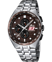 18233/1 Marc Marquez 93 43mm Steel chronograph with tachymeter