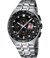 18234/1 Marc Marquez 93 43mm Steel chronograph with tachymeter