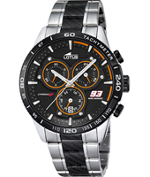 18258/2 Marc Marquez 93 43.50mm Steel chronograph with tachymeter