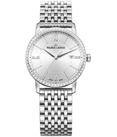 EL1094-SD502-110-1 Eliros 30mm Silver Ladies Watch with Date