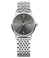 EL1094-SS002-311-1 Eliros 30mm Silver Ladies Watch with Date