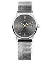 EL1094-SS002-311-2 Eliros 30mm Silver Ladies Watch with Date