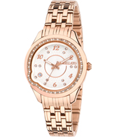 R0153111502 Giulietta Rose gold ladies watch with steel bracelet