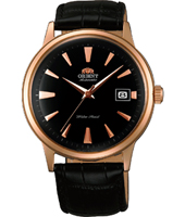 FER24001B Bambino 40.50mm Rose gold & black gents automatic watch with date
