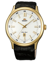 FUNC7003W Judicial 45mm Gold Quartz Watch with Date