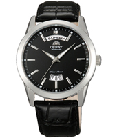 FEV0S004B Union 40mm Black Automatic Watch with DayDate