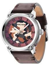 PL14474JS-20 Armor X 50mm Brown Camouflage Gents Watch