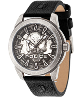PL14637JSQS-57A Mystery 47.60mm XL Gents Watch with Skull Dial