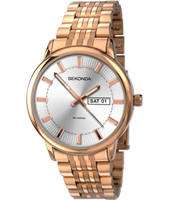 1185  39mm Rose gold gents mens with DayDate