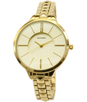 2014  38mm Trendy Gold Ladies Watch