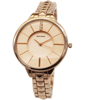 2015  38mm Trendy Rose Gold Ladies Watch