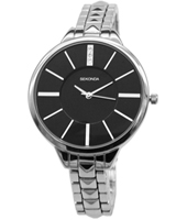 2035  38mm Trendy Silver Ladies Watch