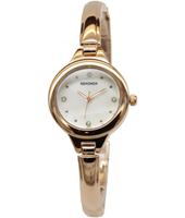 2038  25mm Trendy Rose Gold Ladies Watch