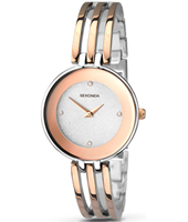 2107  30.70mm Bicolor Rose Ladies Watch