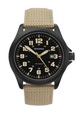 3505  42mm Black Gents Watch with Date
