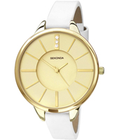 4220  38mm Trendy Gold Ladies Watch