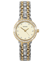 4689  24.50mm Shiny Bicolor Ladies Watch