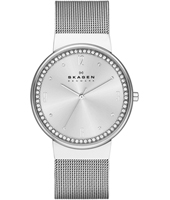 SKW2152 Ancher Medium 34mm Silver Ladies Watch with Crystals