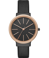SKW2480 Ancher Narrow 30mm Black & rose gold ladies watch
